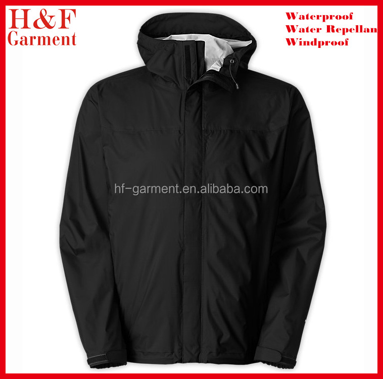 Custom Windbreaker Jacket With Hood Made Of Polyester In Plain ...