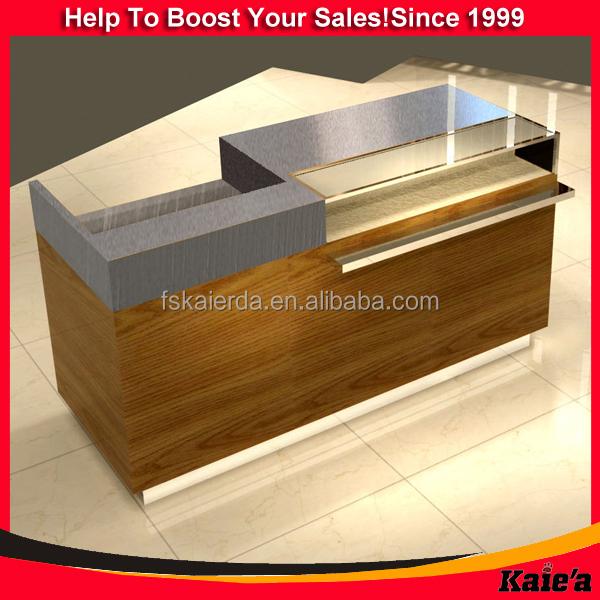 Custom-made Modern Clothes Retail Shop Counter/ Clothes Shop ...