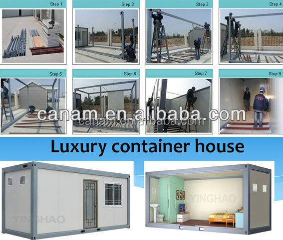 CANAM-economic prefabricated sip container house for sale