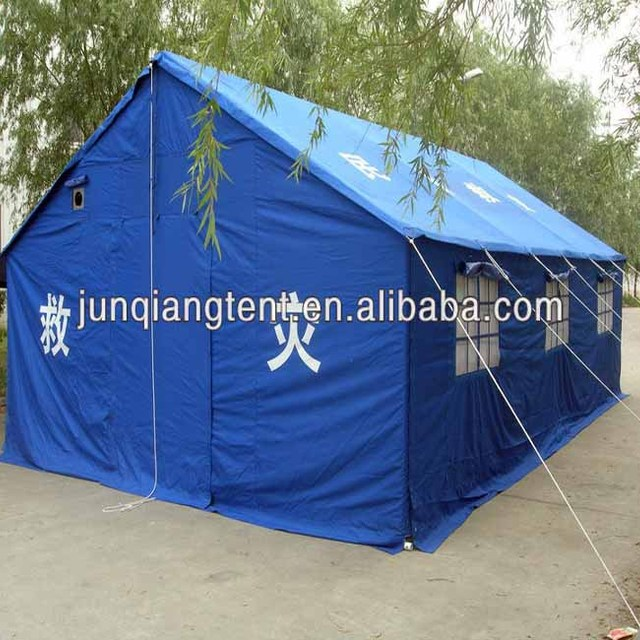 15 man big disaster relief tent refugee tent with polyester oxford fabric coated with PVC fabric & China 5 Person Relief Tent Wholesale ?? - Alibaba