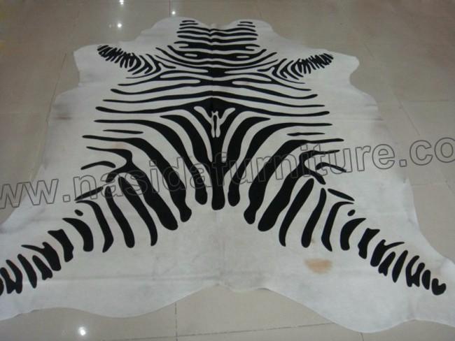 Nasida Clb101 Stampa Zebra In Bianco E Nero Colore Della Pelliccia ...