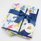 Free Shipping 13% Off Super Soft Minky Material Baby Gift Set