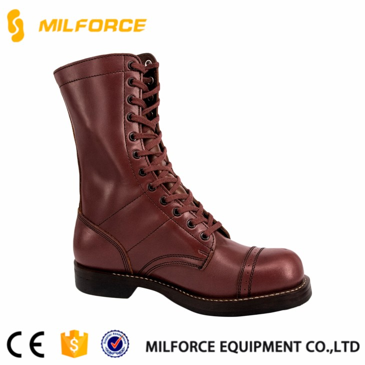 finest selection 9d0af 12398 Milforce - Paratrooper Combat Boots With Leather Sole - Buy Combat  Boots,Paratrooper Combat Boots,Combat Boots With Leather Sole Product on ...