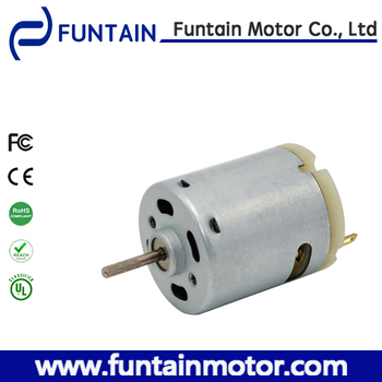 360 Motor 365 Dc Motor Dia 27.7mm Dc Motor / Brushed Dc Micro Hair ...
