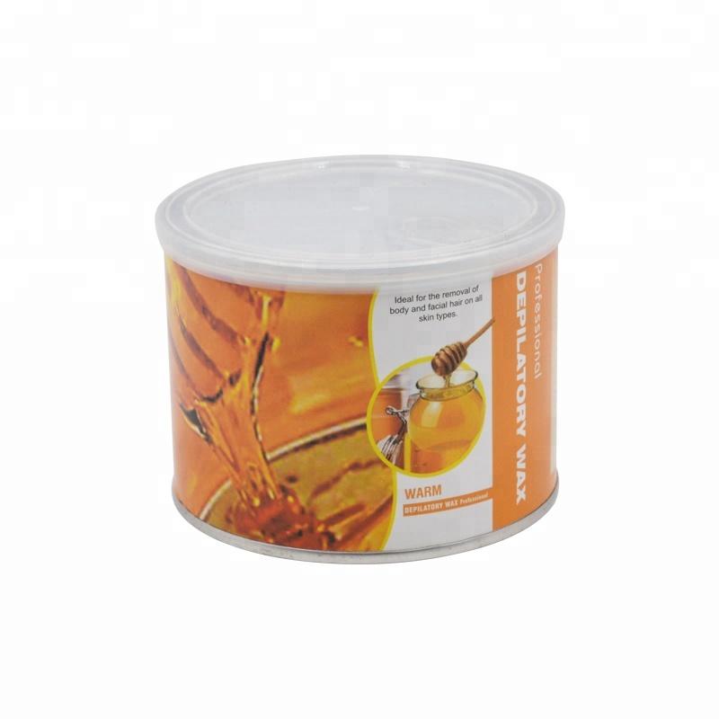 400g गर्म शरीर बालों को हटाने के मोम और लोमनाशक हीटर डिब्बाबंद नरम मोम के लिए पेशेवर सौंदर्य सैलून उपयोग