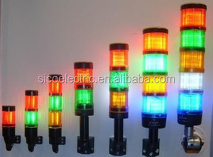 EMA 50mm/70mm led electric light tower/Stack Light/Light Tower for machinery