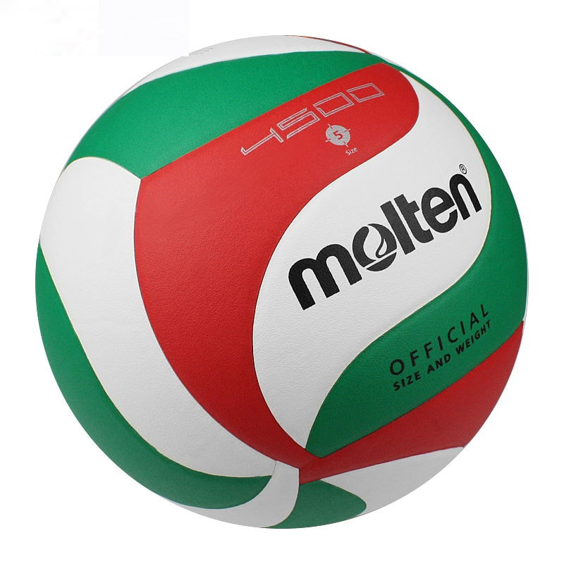 Wholesale custom official size 5 Soft touch indoor Molten V5M5000 NCAA leather beach Volleyball Ball