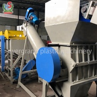 Crush Wash Dewater PE Recycling Machine for Waste Film Plastic Recycling Line
