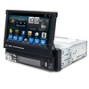 Wholesale OEM Android 1din 7'' universal CD Combination Car dvd video Player GPS Navigation system with TV 3G Ipod Wifi