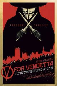 """V For Vendetta - Movie Poster (Regular Style 2) (Size: 24"""" x 36"""") (By POSTER STOP ONLINE)"""