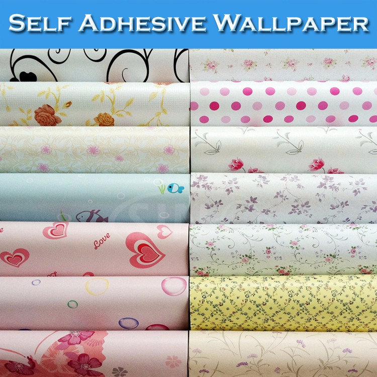 Glamorous 60 Self Adhesive Wall Paper Decorating