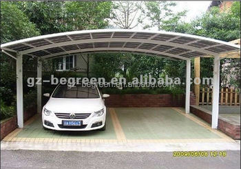 Aluminum Metal Frame Car Shed Car Shelter Outdoor Used Two