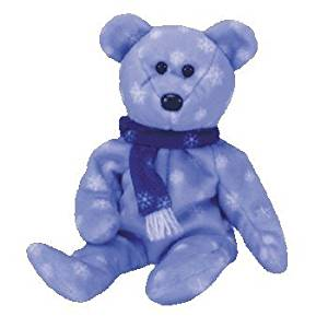 Get Quotations · TY BEANIE BABY 1999 Holiday Bear BEANIES Babies 2f7189b20760