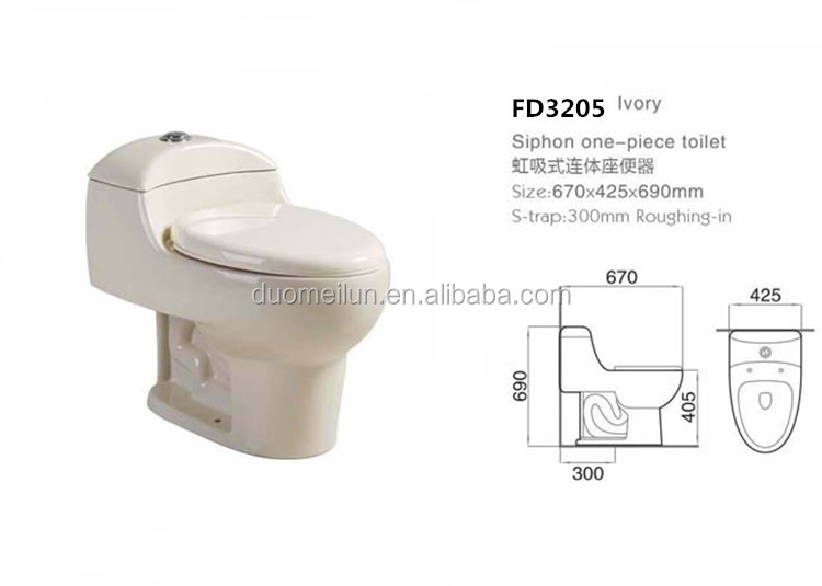 ivory toilet seat soft close. Ceramic Soft Close Low Price Ivory Bone Color One Piece Wc Toilet