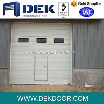 Sandwich Panel Garage Door Finger Protect Sectional Door
