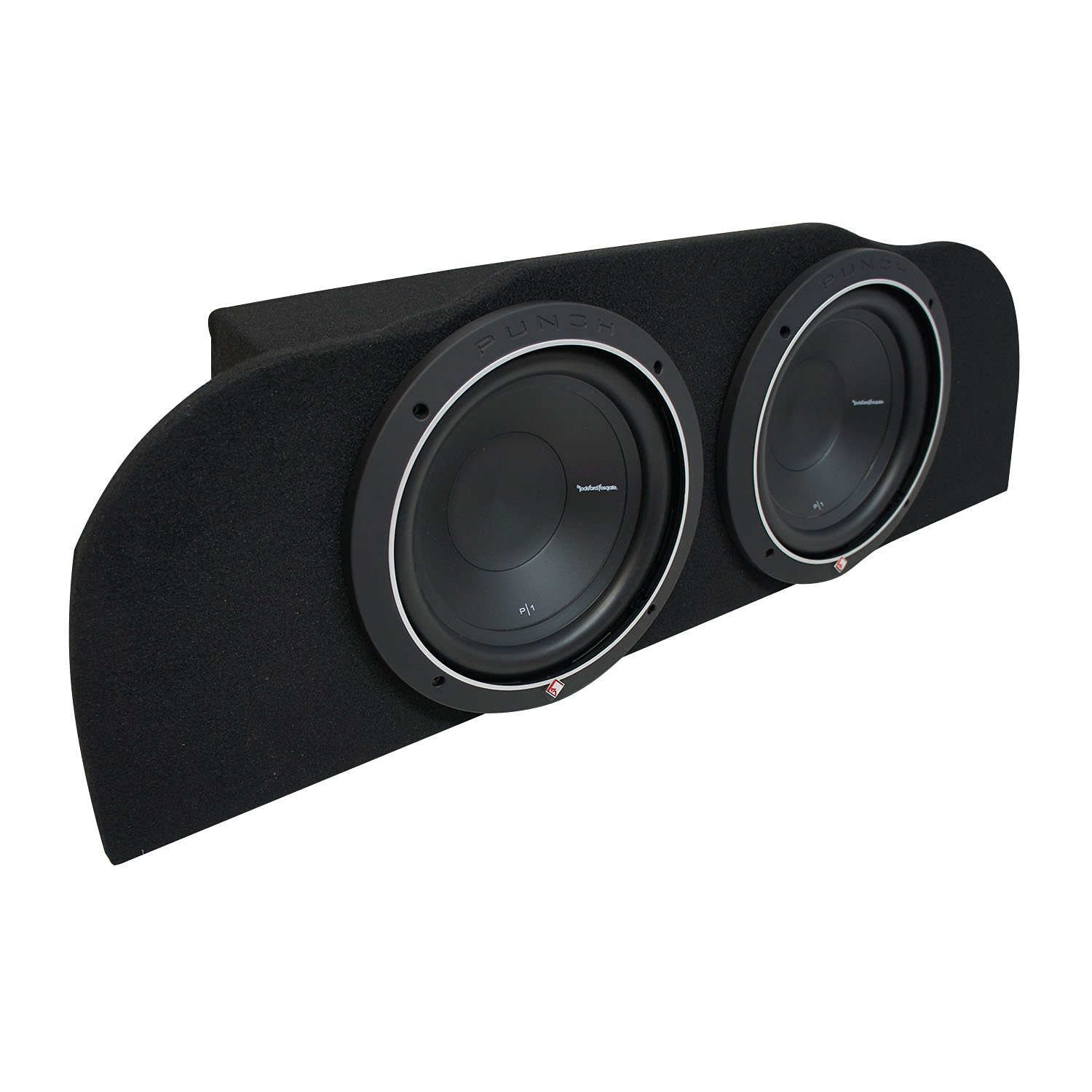 "2003-2015 Infiniti G35 Coupe Rockford Punch P1S410 Subwoofer Dual 10"" Sub Box Enclosure - Final 2 Ohm"