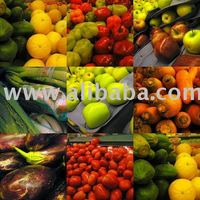 Fresh fruits and vegetables from Chile