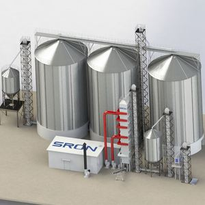 Corn seed grain storage steel silos system for sale