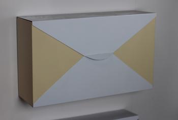 Envelope Design Mailboxwaterproof Wall Mount Mailbox Letter
