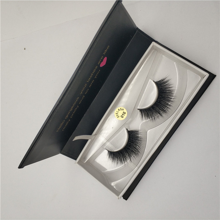real mink eyelashes full strip lashes 3D fake eye lashes hand made natural long crossing eyelashes make up extension