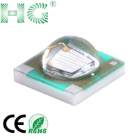 3535 led Green light 3W 45mil chip 3V 700mA 140-200lm high power led smd 3535 chip