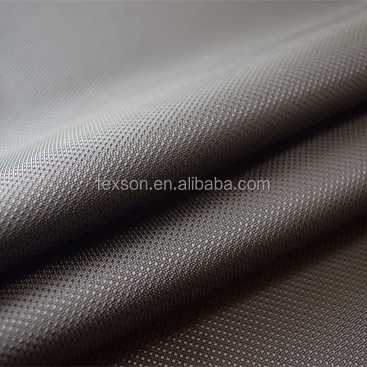 100% polyester 420d polyester jacquard oxford fabric with PU coated for bags and backpack