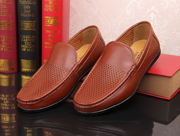 men shoes genuine leather casual 2018 fashion wfA1qS0