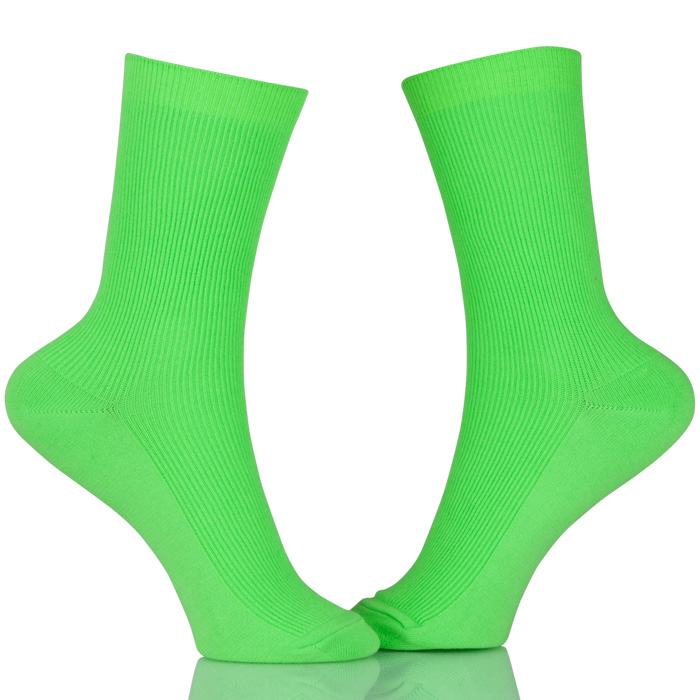 Tube Pure Color Cotton Socks Unisex Women Men Casual Socks