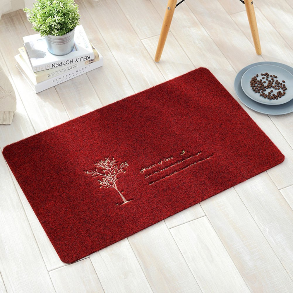 Entrance mat/Bedroom kitchen mats in the Hall/Bathroom water-absorbing mat-R 40x60cm(16x24inch)
