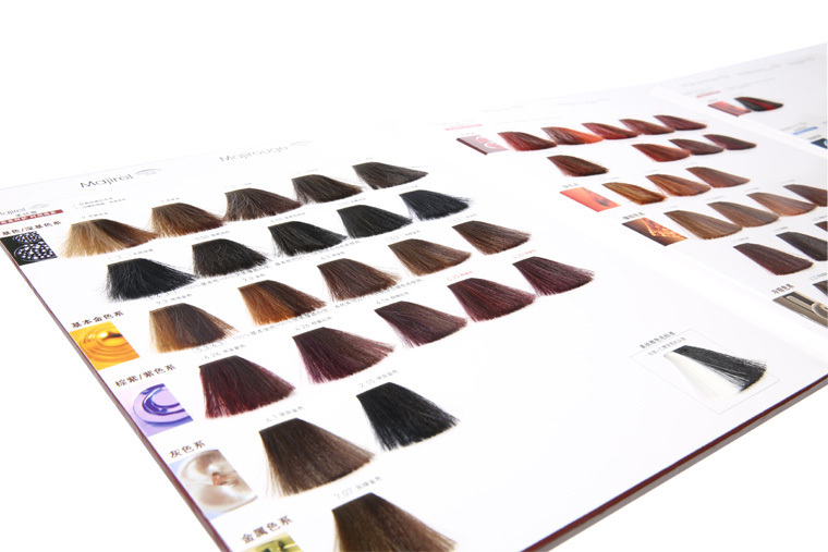 Pantone Color Chart Silky Hair Color Mixing Chart  Buy Pantone