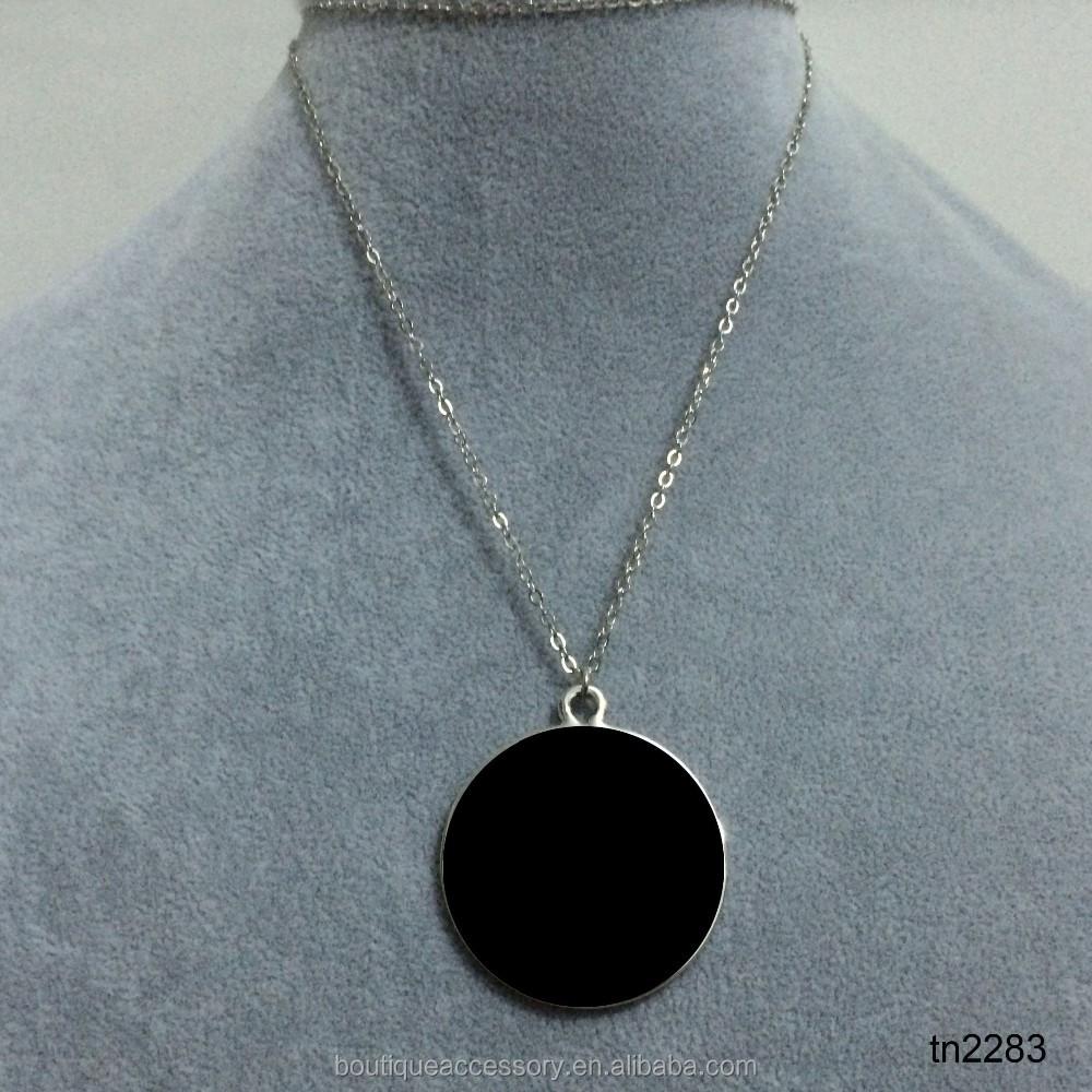 Gold Monogram Pearl Necklace Designs