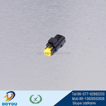 2 pin delphi fci plastic pa66 automotive connector 211pc022s0049