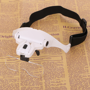 Tattoo lamps LED Headband Loupe Magnifier Glass microblading accessories for permanent makeup