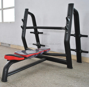 Commercial gym equipment body building machine used gym equipment for sale AN 52 flat bench