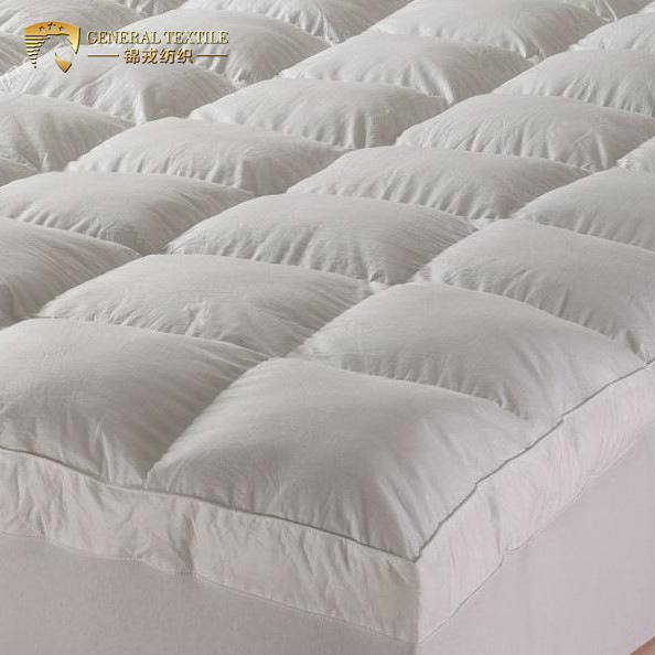 5 Stars high end hotel waterproof goose down mattress topper