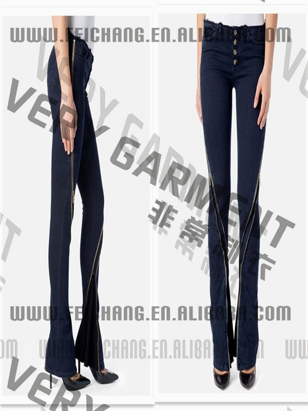 Italy's latest chain skinny wholesale jeans women