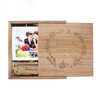 Wooden Box Usb Flash Drive for Sweet Wedding Photography Album with custom logo for gift