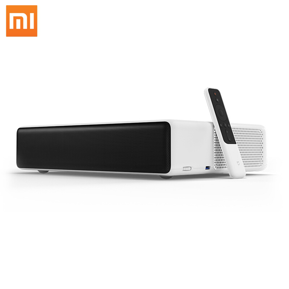 Xiaomi Mi Laser <strong>Projector</strong> 1080p Native Resolution 4K Support MIUI TV Quad-Core CPU ALPD 3.0 Laser Light Source 5000 lumen