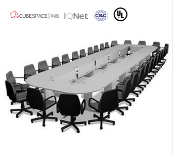 Veneer Big Large Conference TableMeeting Table DeskAmerican Cherry - Large white conference table