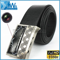 HD 1080P Belt Hidden Camera with IR Night Vision Motion Detection + Remote
