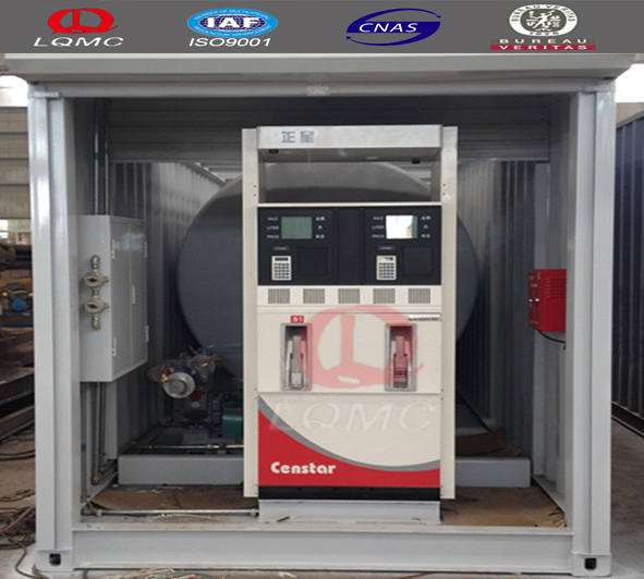 20ft And 40ft Mobile Fuel Station/container Filling Station With ...