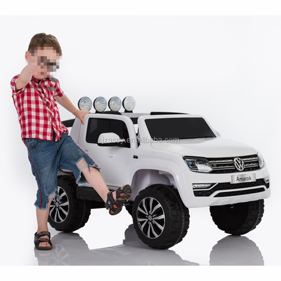 Volkswagen Amarok licensed new ride on big toy cars for kids with optional four motors AS-L008