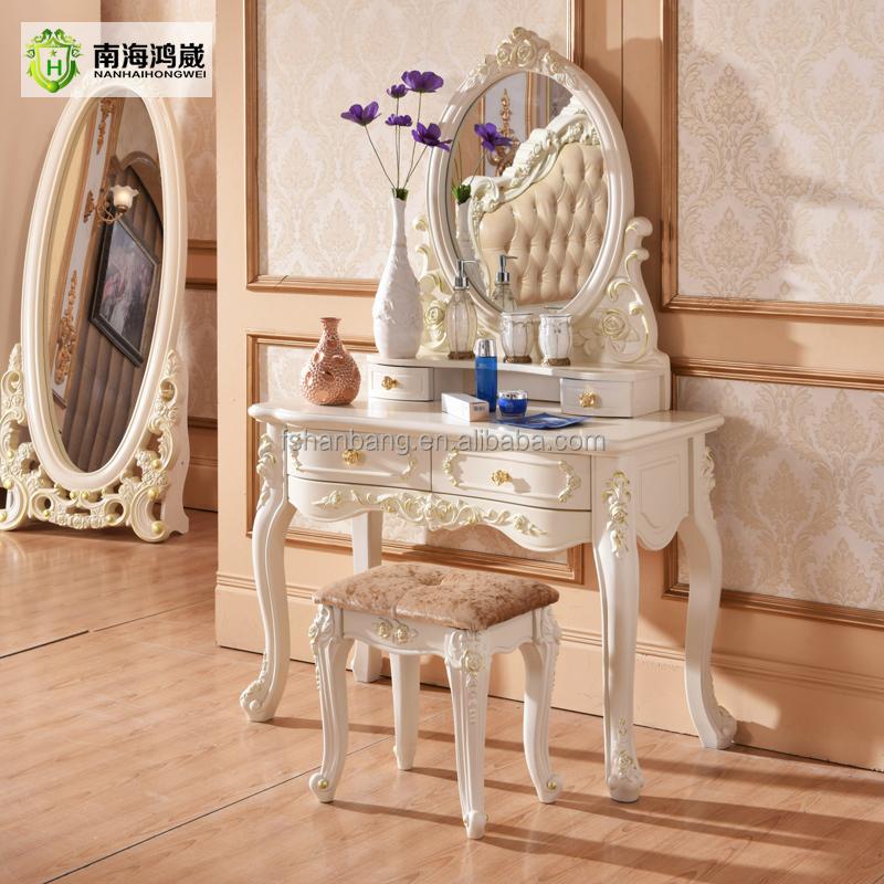 royal europese franse hout gesneden bed kamer meubels slaapkamer, Meubels Ideeën