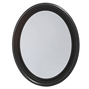 Pegasus 23-1/2-inch x 29-inch Recessed or Surface Mount Mirrored Medicine Cabinet in Espresso (5.5 x 29 x 23.5 )