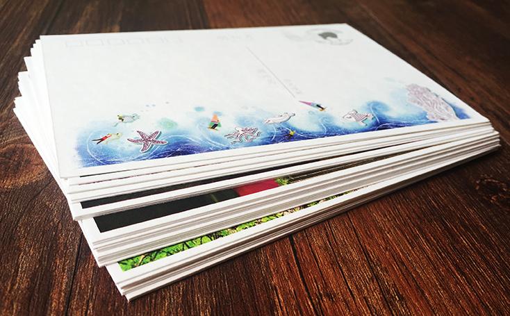 Печать фотографий в открытку
