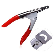 Nail Art Clipper use of False Nail Edge french nail cutter