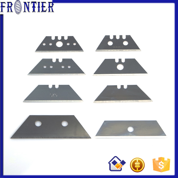Carbon Steel Trapezoid Knife Blades For Plastic Painting