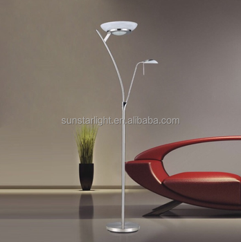 designer standing lamps living room one arm floor standing lamp designer modern decorative led with reading light led