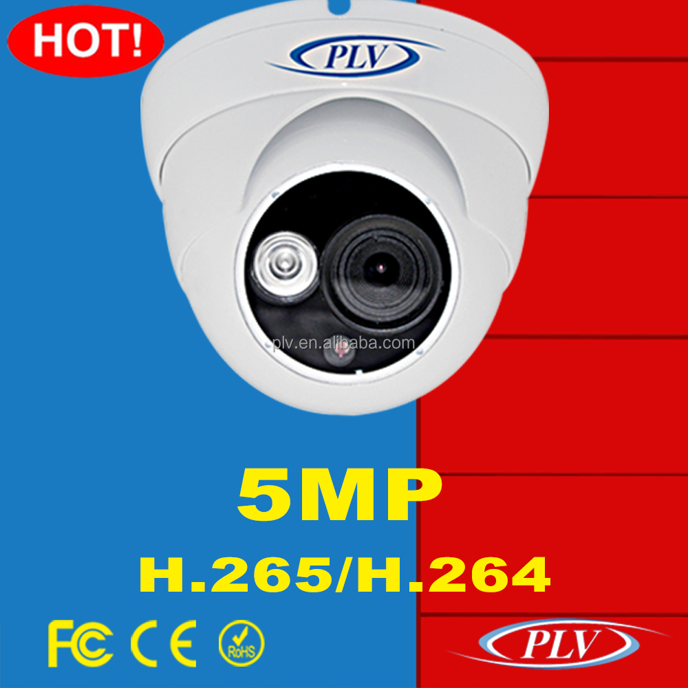 5MP/3MP/1080P high resolution PLV-NC501B cctv best price mini ip dome camera