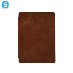 Fabric pattern Slim/light weight PU leather case for Amazon Kindle 2019
